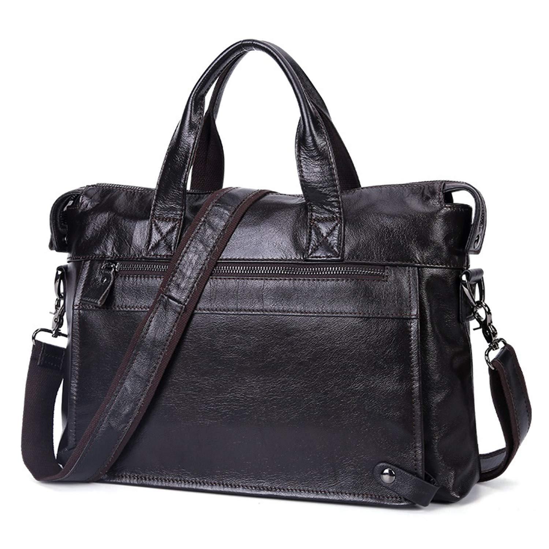 Leather Bags Business Men Bags Laptop Tote Briefcases Shoulder Bags Handbags Mens Messenger Bags