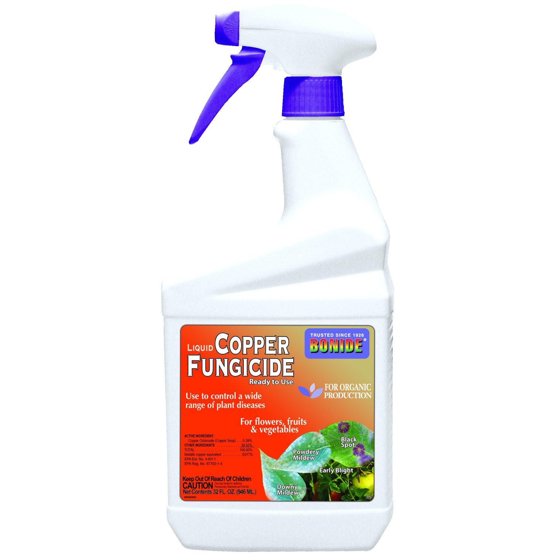 Amazon.com : Bonide Copper Fungicide Rtu Natural 1 Qt : Copper ...
