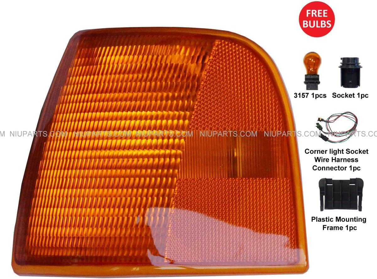 Turn Signal Corner Lamp - Driver Side (Fit: Peterbilt 377 & 385 375) 71Asuz9VAOLSL1200_