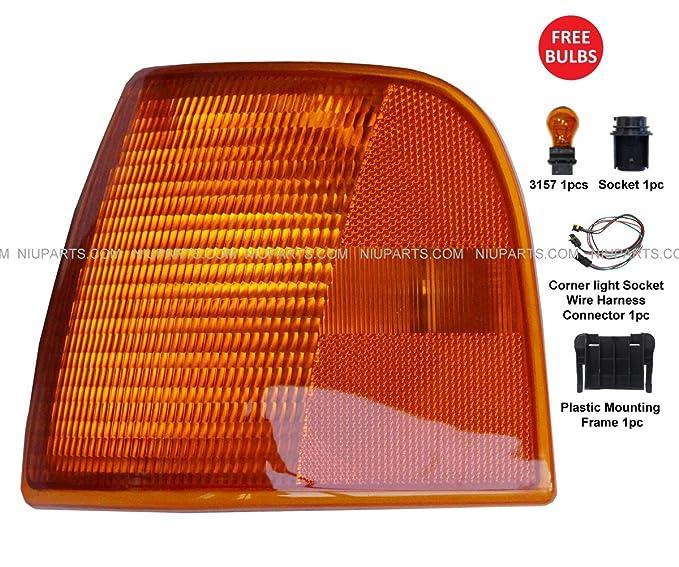 Turn Signal Corner Lamp Driver Side Fit Peterbilt 377 385 375