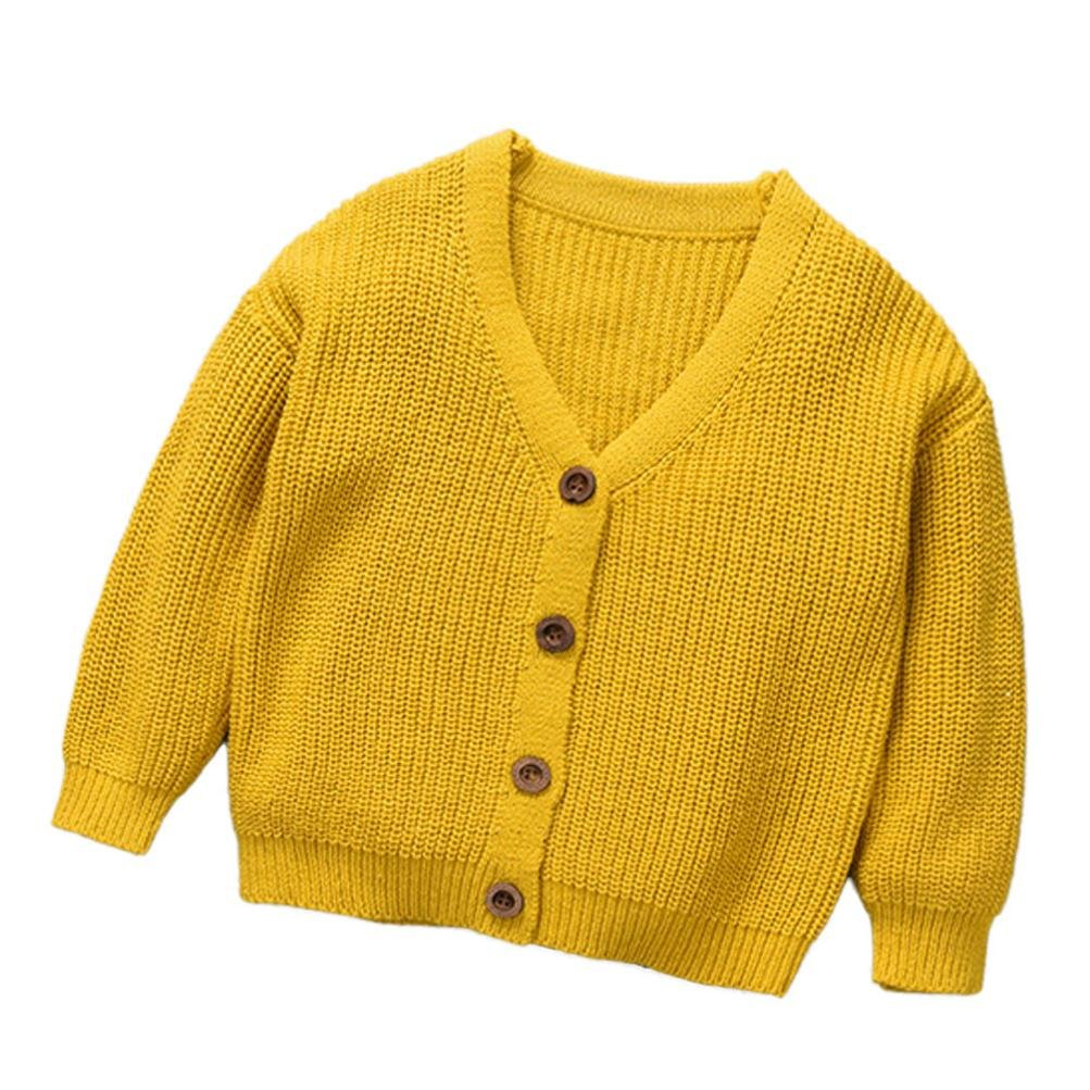 Cárdigan para Bebés zycShang Bebé Suéter Encapuchado Tejer Jerseys Cárdigan Capa Calentar