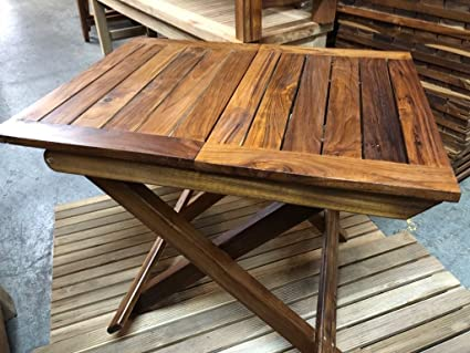 Teak Folding Table Boat/Home/Garden