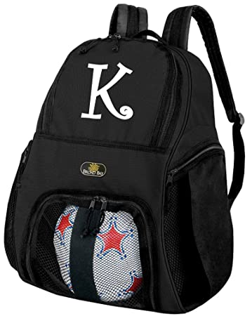 Amazon.com : Personalized Soccer Backpack Ball Holding Bag by ...