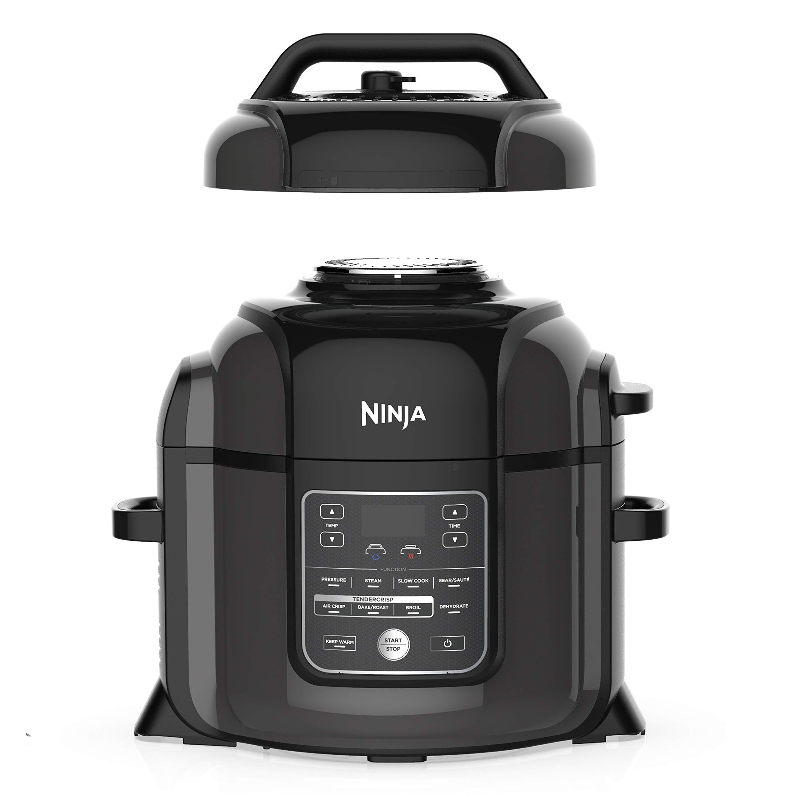 Amazon com: Ninja OP401 Foodi 8-Quart Pressure, Steamer, Air