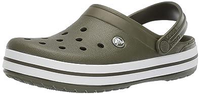 a15b1429ca0f3 Crocs Men's and Women's Crocband Clog | Comfort Slip On Casual Water Shoe |  Lightweight