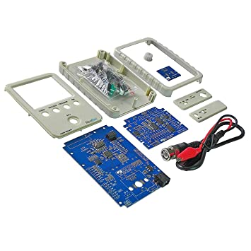 Kuman DSO Shell Osciloscopio DIY Kit with Open Source 2.4 Pulgadas ...