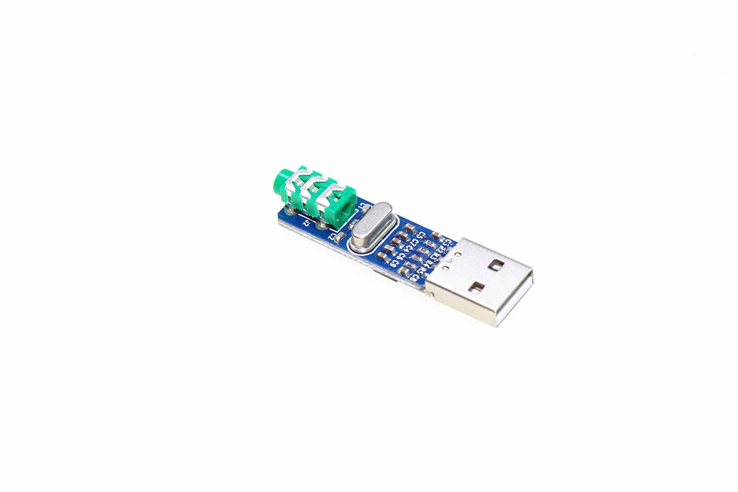 SMAKN® Mini PCM2704 USB Sound Card DAC Decoder Board