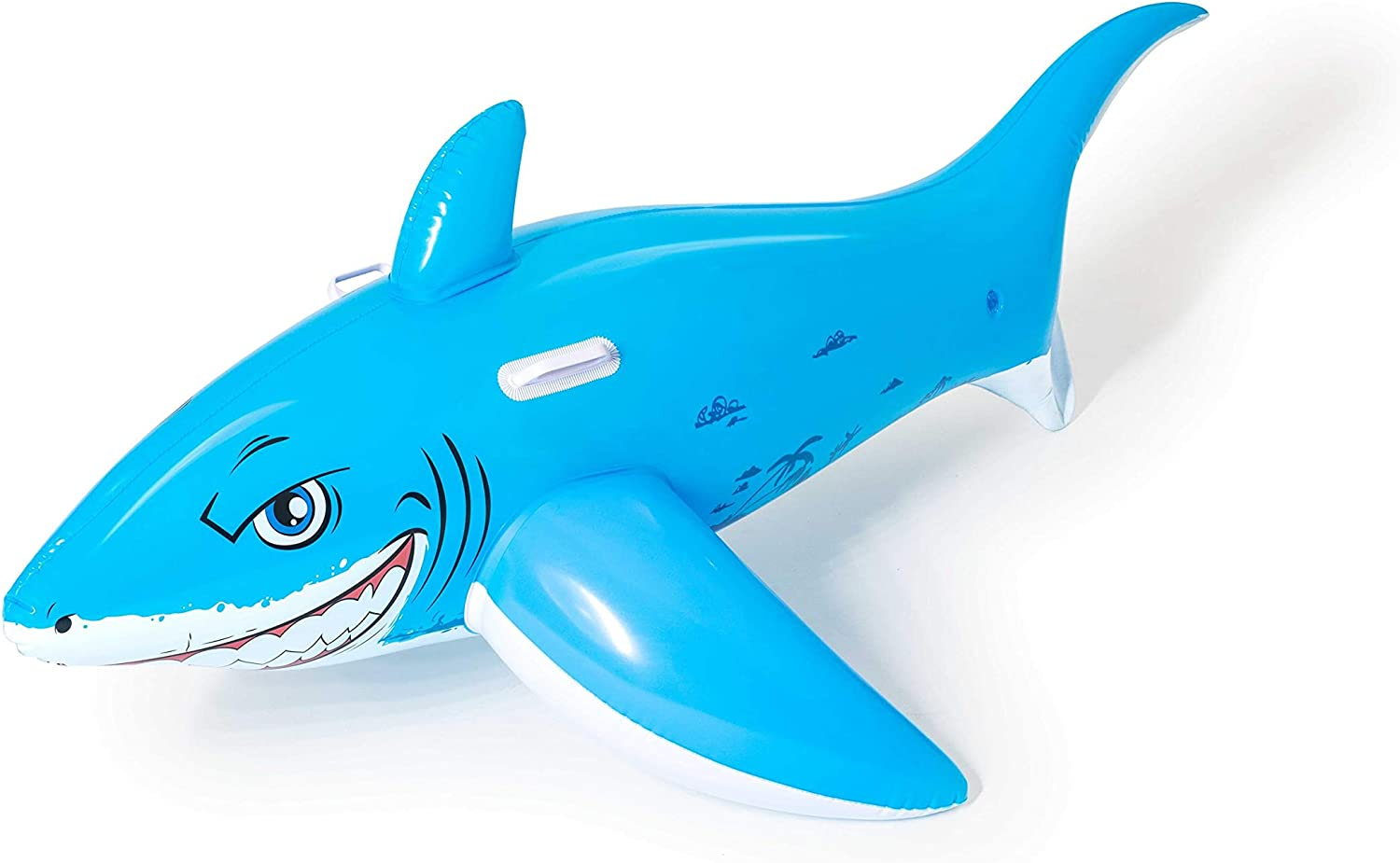 Bestway Great White Shark Ride ON - Juguete Hinchable