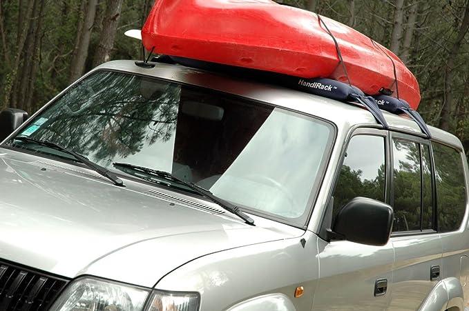 Alubox Handirack Aufblasbarer Gepäckträger Universal Blau Auto