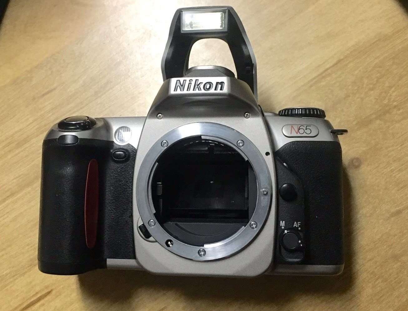 Nikon F65 35mm SLR Camera Body Only in Silver, (F65 = N65)