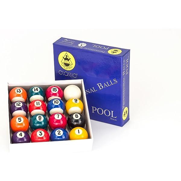 Bolas de billar Classic de primera calidad, 38 mm: Amazon.es ...