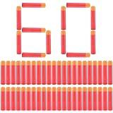Yosoo® Ricarica 60 Dardi Fischietti per Nerf N-Strike Mega Serie - 9,5cm