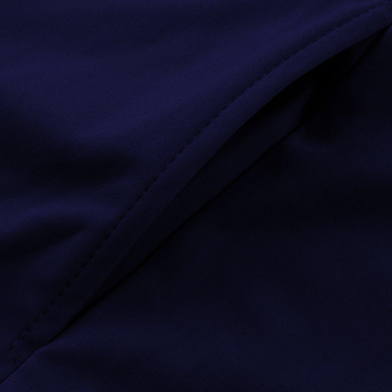54750b824b9 ... semen Damen Jumpsuit Business Langarm Suit Schlank High Waist Festlich  Tief V-Ausschnitt Anzug Abendmode ...