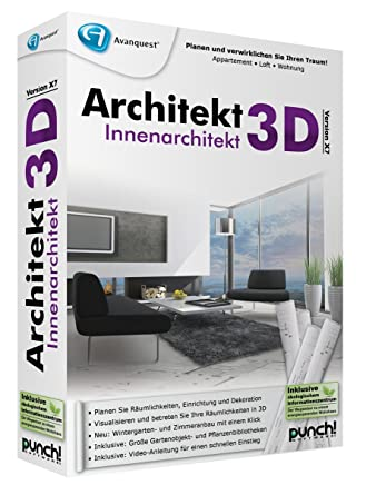 Innenarchitektur software  Architekt 3D X7 Innenarchitekt: Amazon.de: Software