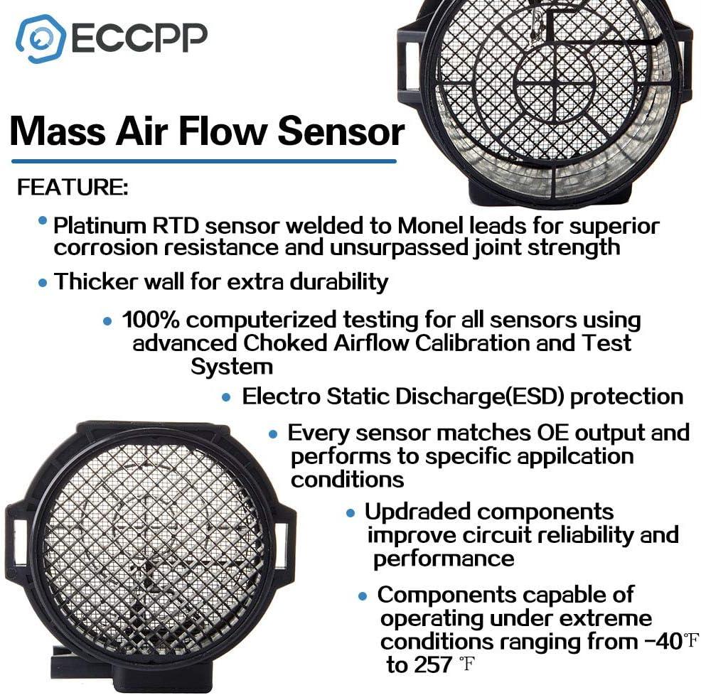 330Ci 330i Z4 L6 3.0L 2003 2004 2005 Engine ID 265S6 ECCPP Mass Air Flow Sensor Meter Hot Wire Sensor AFM MAF for BMW 325Ci 325i L6 2.5L