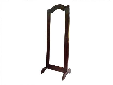 Amazon.com: Urnporium Solid Mahogany Wood Cheval Free Standing Floor ...