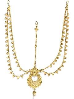 ded914e8f2cbc Buy Sukkhi Belly Chains for Women (Golden) (KB71865GLDPJ092017 ...
