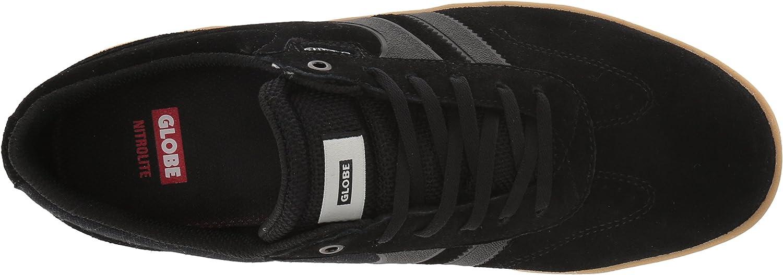 Globe Empire, Chaussures de Skateboard Homme Noir Black Gum 10023