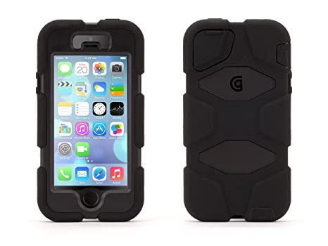 Griffin Rugged Case Survivor for iPhone 5   5S  Amazon.co.uk  Electronics 56d00a2330