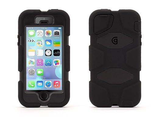32 opinioni per Griffin Survivor All-Terrain, Custodia Cover per iPhone 5/5s, Nero
