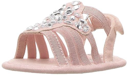 Baby Caralee Dress Sandal, Shimmer Pink