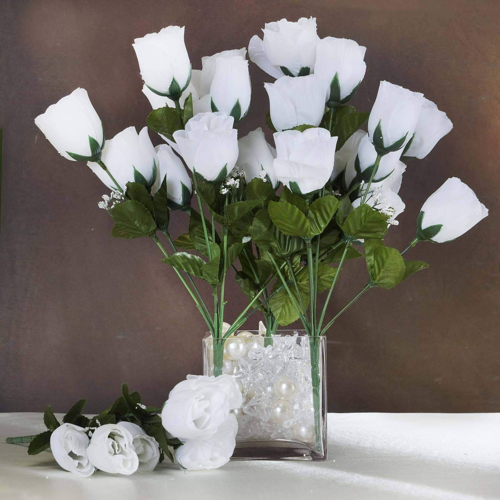 Efavormart-84-Artificial-Buds-Roses-for-DIY-Wedding-Bouquets-Centerpieces-Arrangements-Party-Home-Decoration-Supply-White