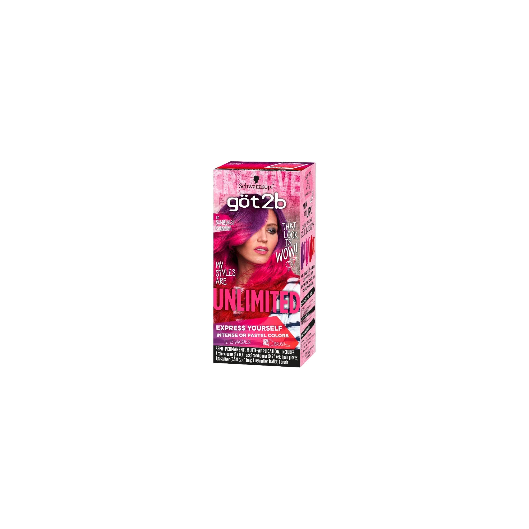 Got2b Color Unlimited Sunburst Collection (Pack of 18) by Generic (Image #2)