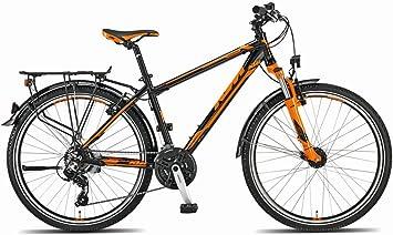 KTM Country Sport 26,Bicicleta de Trekking, 2015, negro naranja RH ...