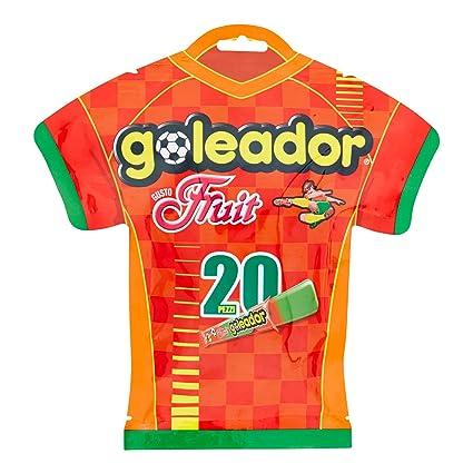 Goleador Fruit Gummy Candy – Bolsa para camiseta de fútbol ...