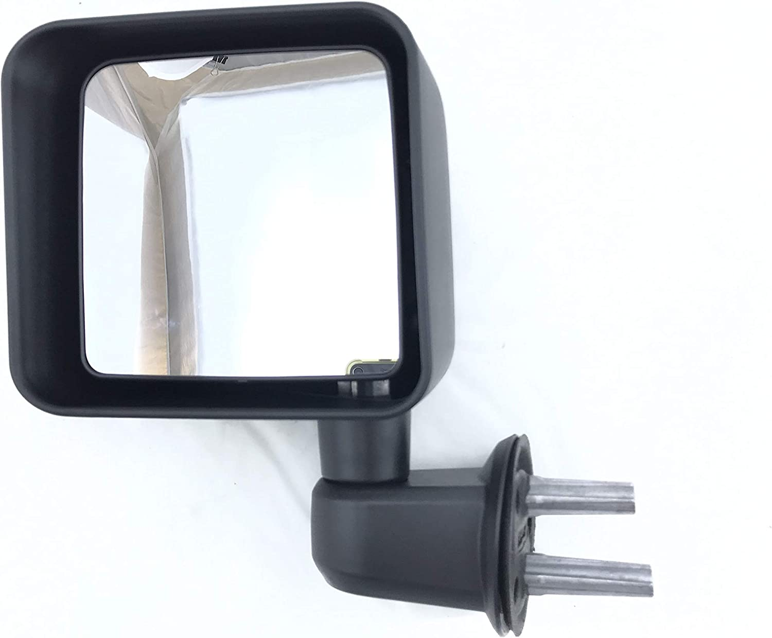 Parts Link #: 55077967AF Passenger Side Mirror for JEEP RANGLER 07-11 SWING AWAY TYPE MAN MIR LH OE: CH1320271 TEXTURED | Left Outside Rear View Mirror