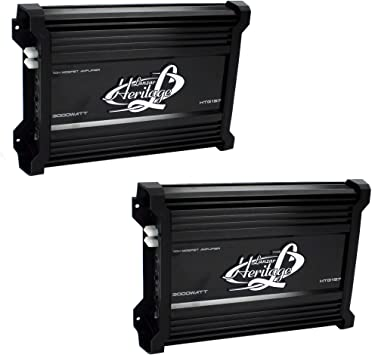 NEW LANZAR HTG157 3000W Mono MOSFET Car Audio Power Amplifier Amp Stereo 2 Ohm