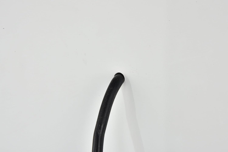 Decor Central ADEMIR-25515 Rectangle Steel Frame Vanity Mirror 27.5 Glossy White Finish