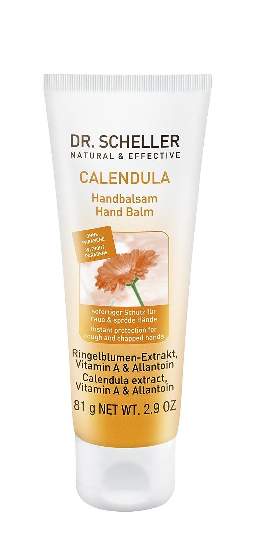 Dr. Scheller Calendula Handbalsam für raue und spröde Hände, 6er Pack (6 x 75 ml) 55040
