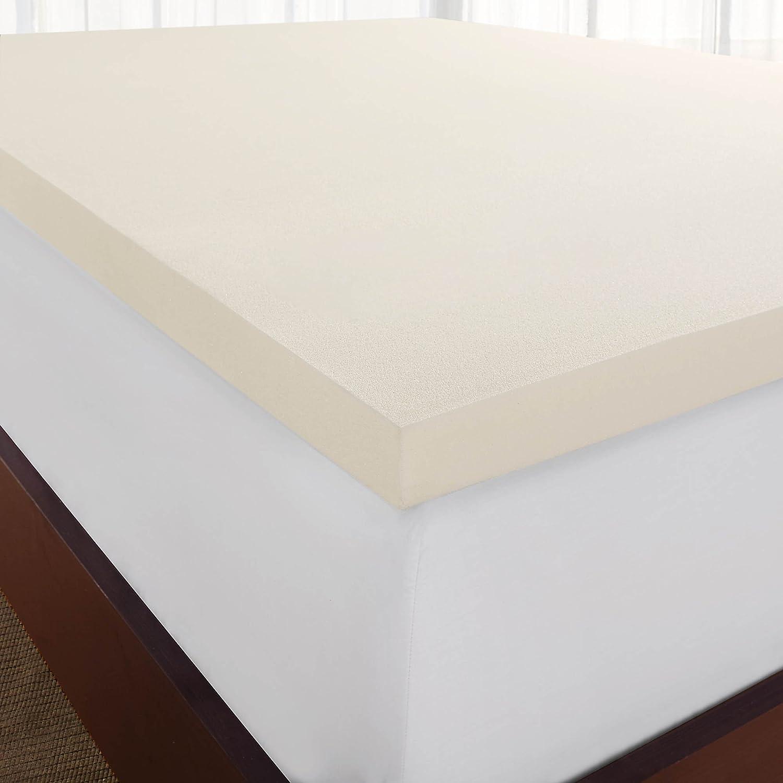 memory htm topper mattress inch p foam