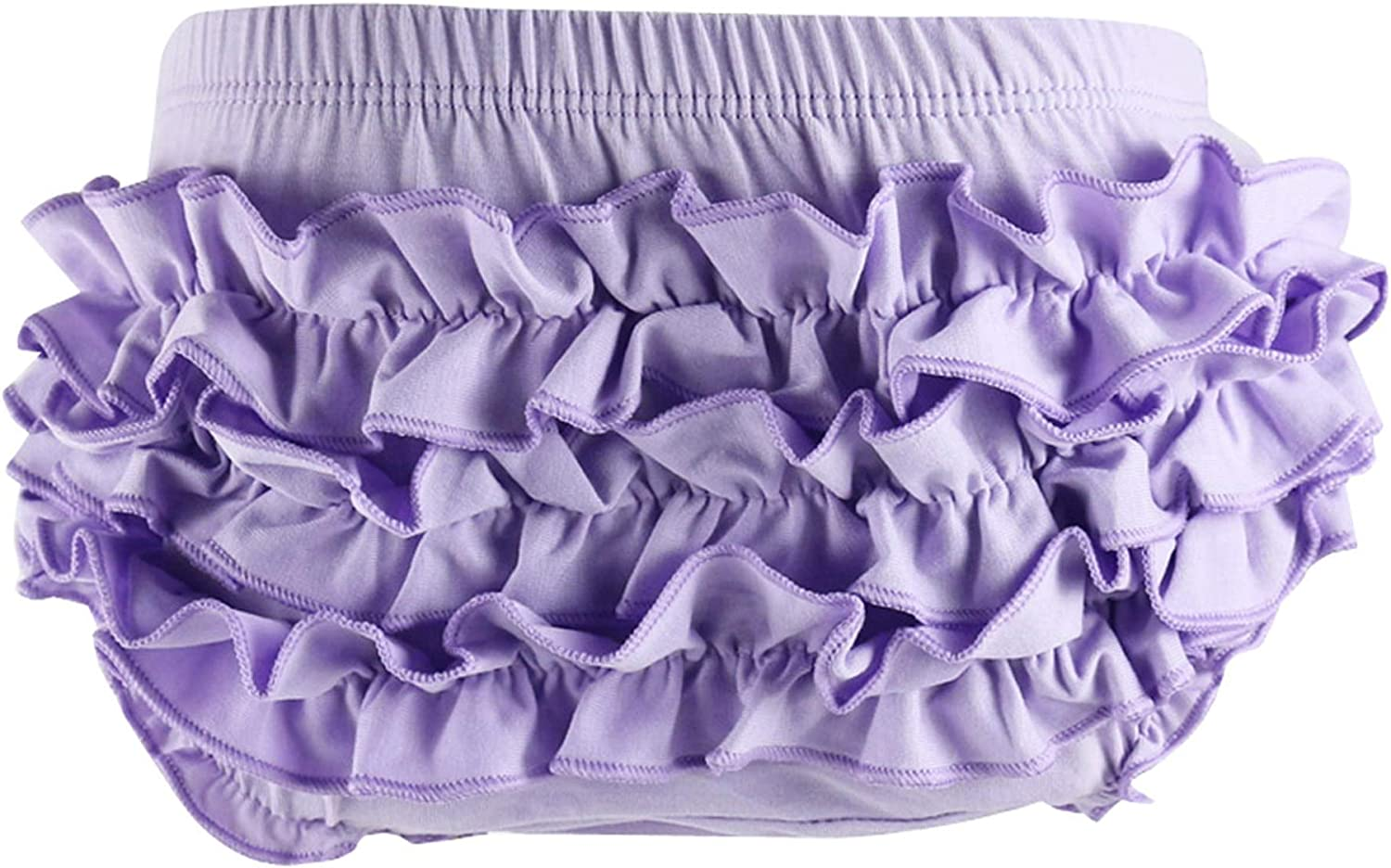 VduanMo Basic Cotton Diaper Cover Baby Bloomers with Ruffle