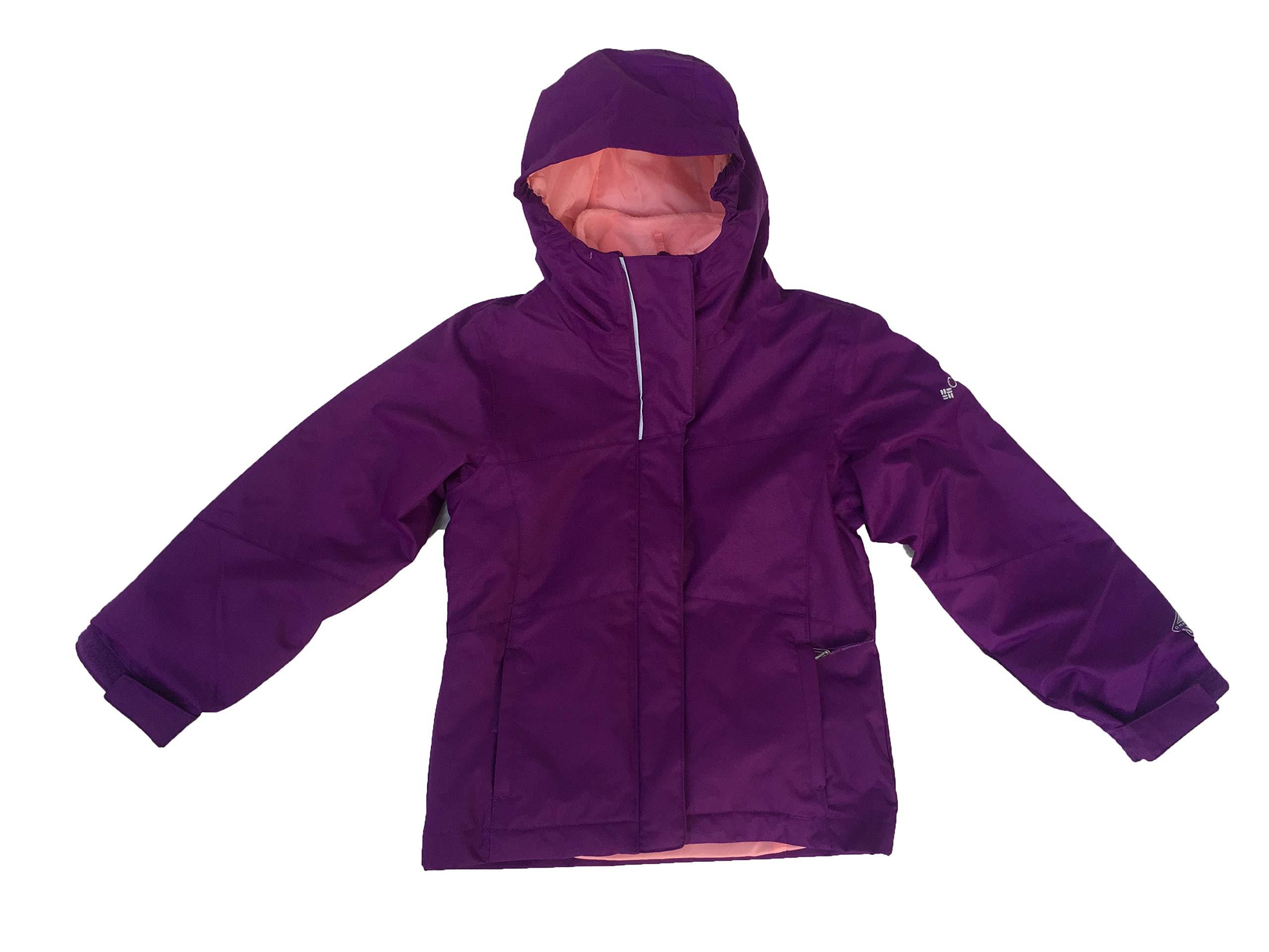 Columbia Girls' Bugaboo Interchange Jacket (Bright Plum(XG7067-593)/Pink, XX-Small)