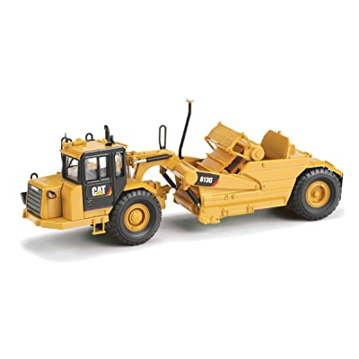 Norscot Cat 613GWheel Tractor Scraper (1:50 Scale), Caterpillar Yellow: Toys & Games