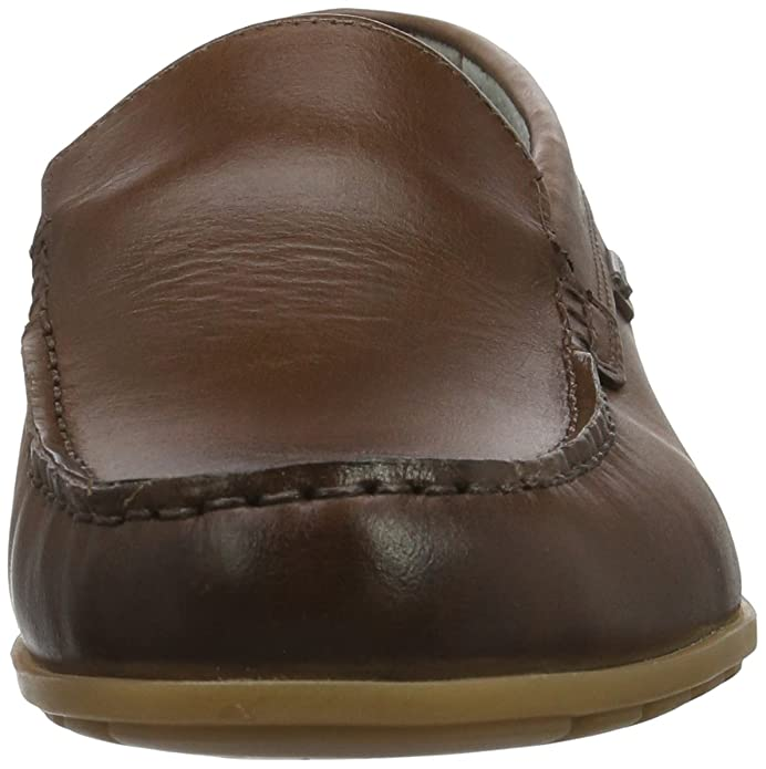 Fretz Men Sorrento, Mocasines para Hombre, Braun (Cavallo), 39 EU Fretz Men