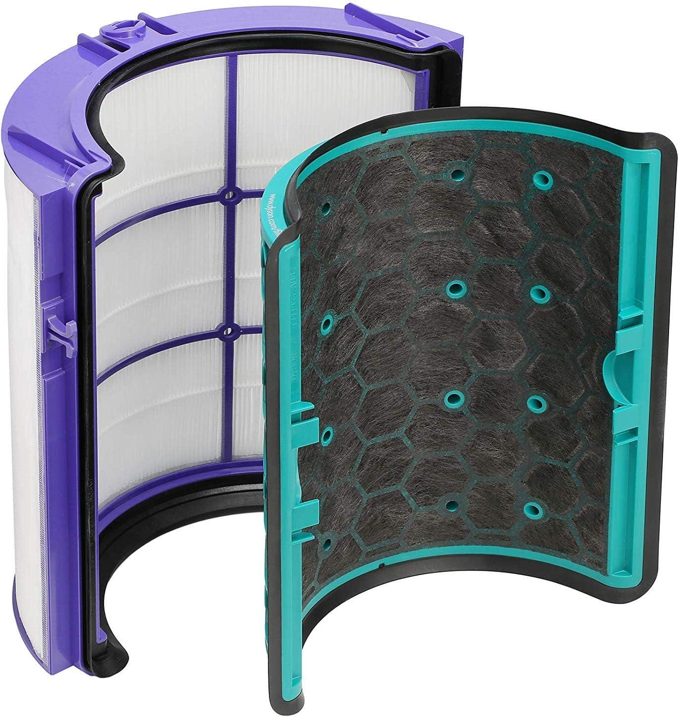 Find A - Filtro HEPA de repuesto y filtro de carbón activado ...