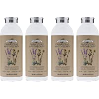 Farmstead Apothecary 100% Natural Baby Powder, Lavender Chamomile 4 oz (Pack of 4)