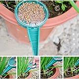 Dealglad 5Pcs Adjustable Hand Held Garden Flower Plant Grass Seeds Planter Dial Sower Sowing Seeder Gardening Tool (Random Color)