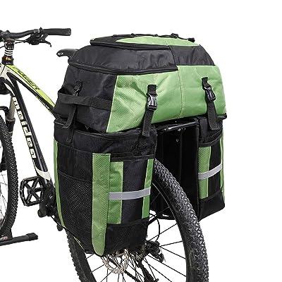 Bike Portable Bike Saddle Bag Bicycle Rear Seat Bag Multifunction Waterproof