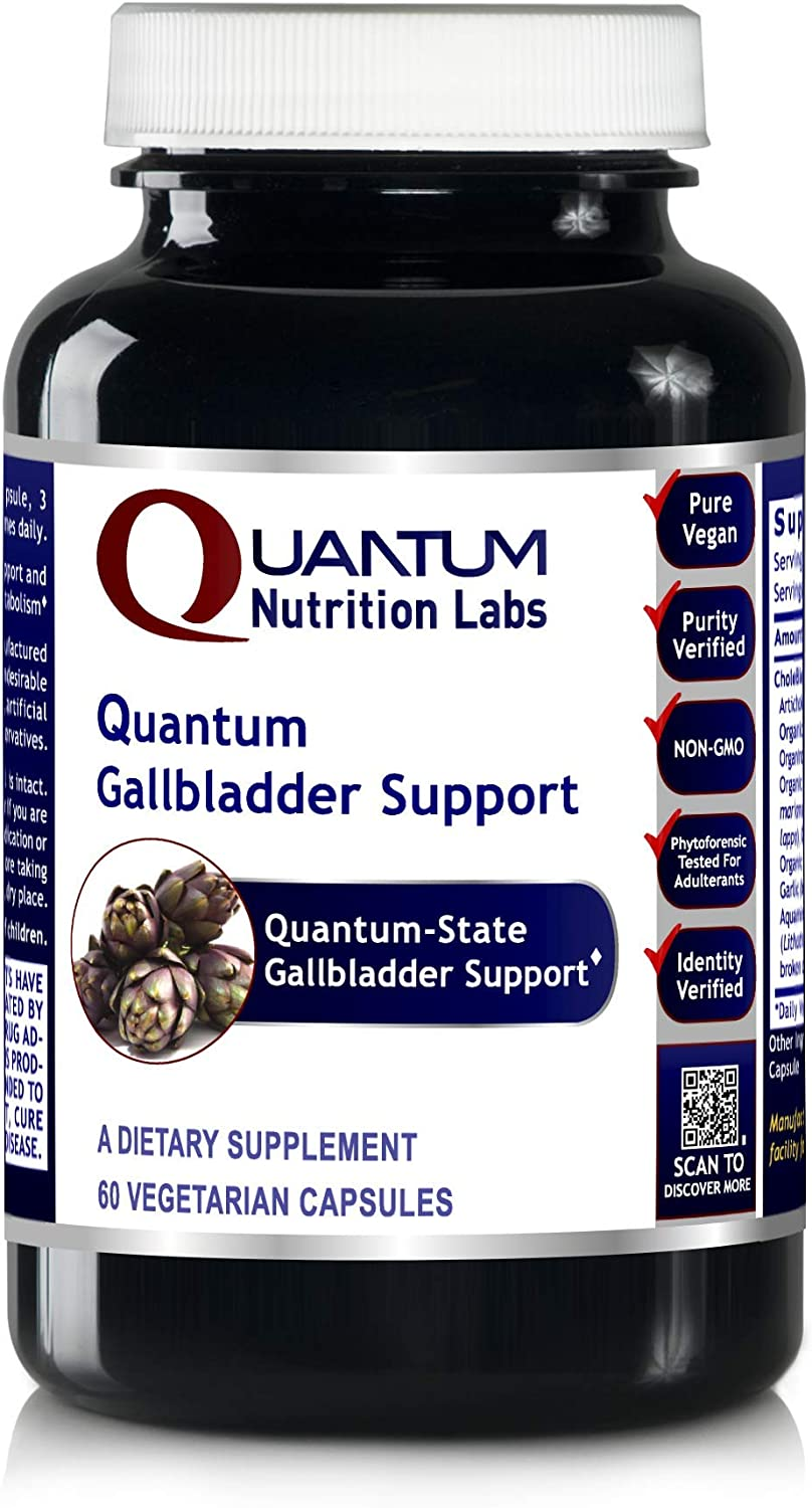 Quantum Gallbladder Support, 60 Veg Caps – Quantum-State Detoxification and Gallbladder Support