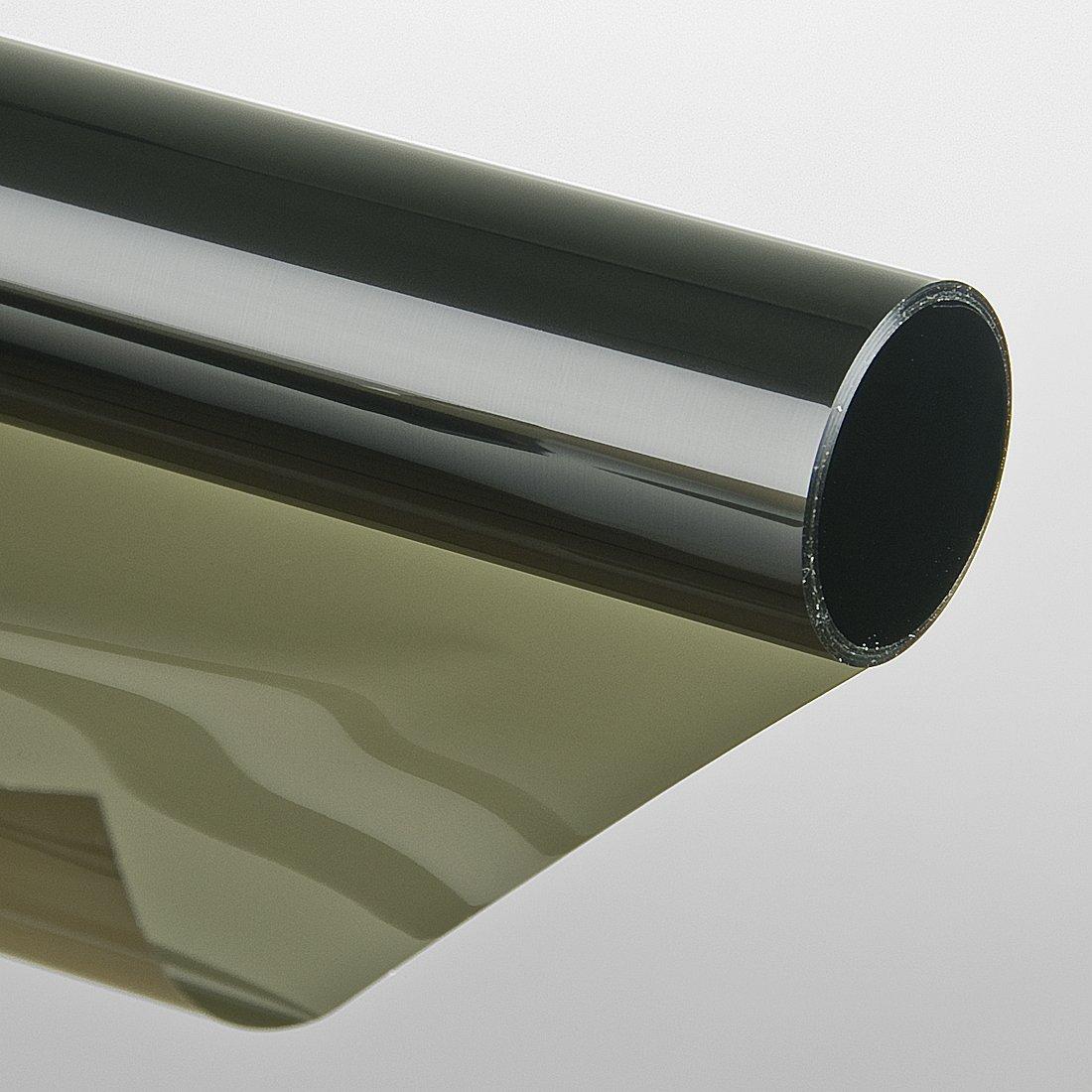 LED-Gigant - Adhesivo para ventanas (protector solar, resistente a los rasguñ os, tintado, 75 x 300 cm), color negro resistente a los rasguños 3007581201