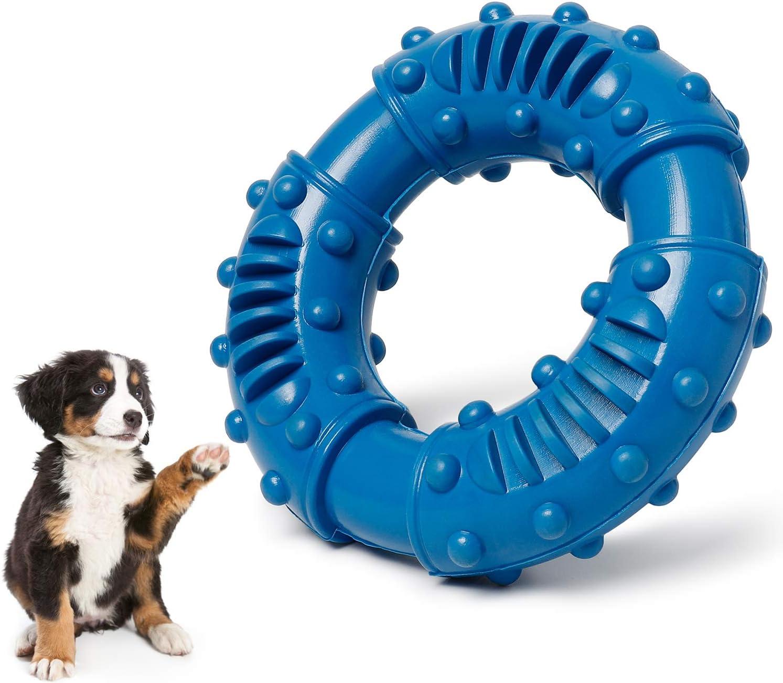 Toozey Juguetes Mordedor Perros Grandes Resistentes - Juguetes para Dientes de Cachorro Pequeños, Medianos y Grandes Juguetes para Perros - no tóxico