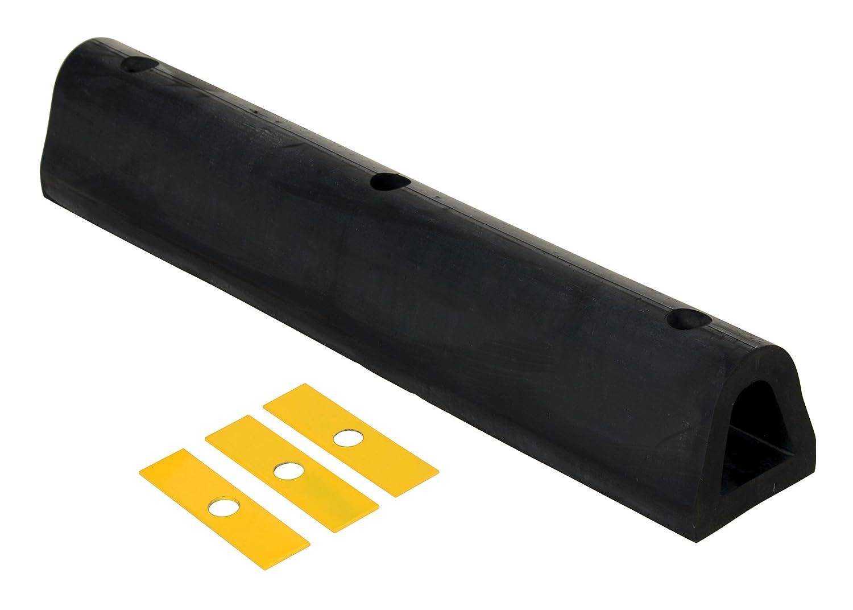 Vestil M-6-12 Rubber Extruded Bumper 6 Width 6 Depth 12 Length