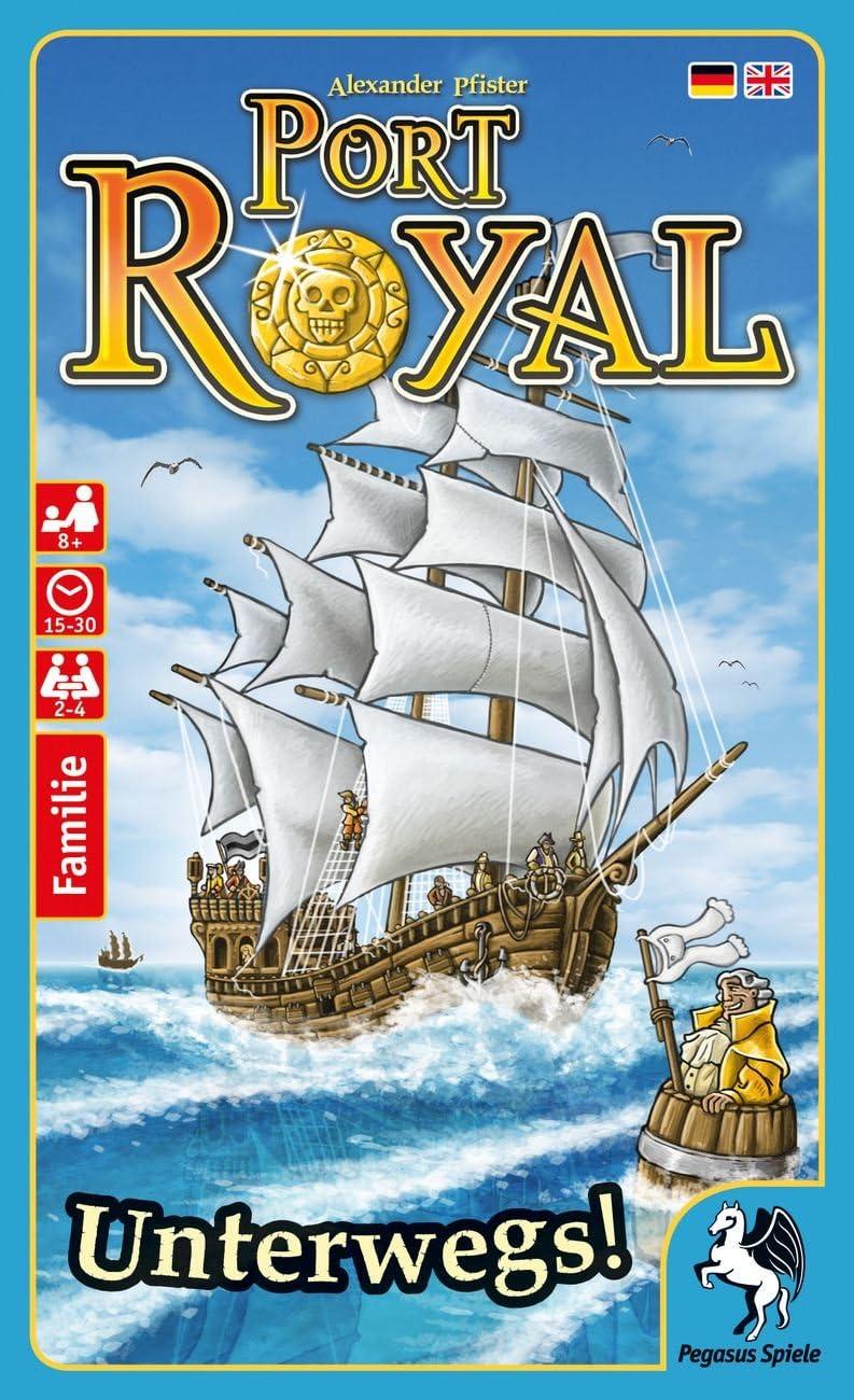 Pegasus Juegos 20018 g – Port Royal Viajes Juego de Cartas: Amazon.es: Juguetes y juegos