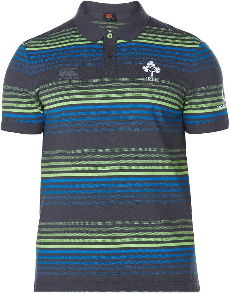 Canterbury CCC - Polo Irlanda Rugby Uomo - Mens Ireland Rugby Polo - E534130 (L): Amazon.es: Deportes y aire libre