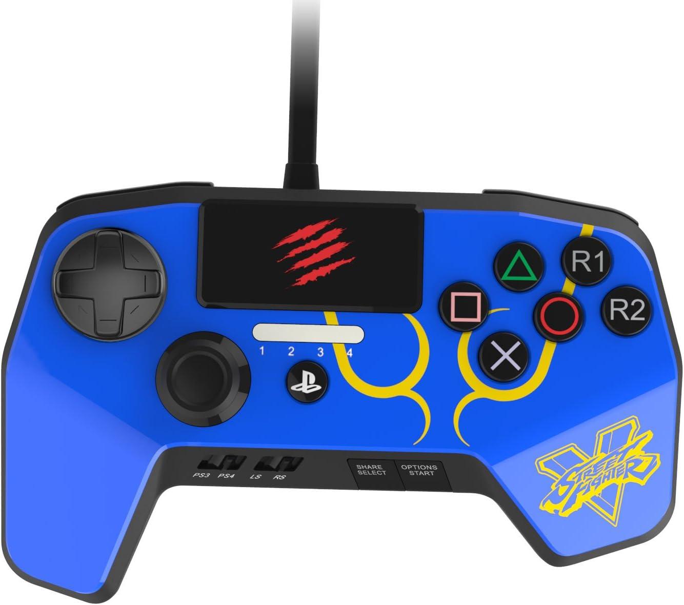 Mad Catz Fightpad PRO V2 (Street Fighter V Special Edition Ken ...