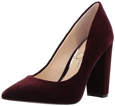 Jessica Simpson Women's Tanysha Pump Rouge Noir Size 6.5 US / 4.5 UK